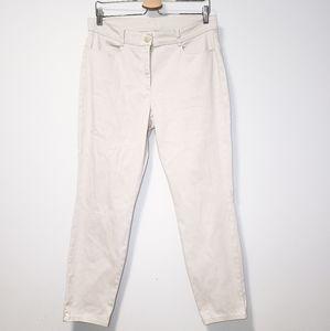 BRAX Cotton Shakira Sharp Beige Cream Pants 34